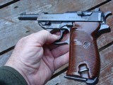Walther P38 9mm Steel Frame Ex Cond