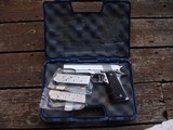 COLT GOLD CUP NATIONAL MATCH SERIES 80 STAINLESS AS NEW WITH 3 MAGS - 1 of 10