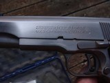 COLT GOLD CUP NATIONAL MATCH SERIES 80 STAINLESS AS NEW WITH 3 MAGS - 7 of 10