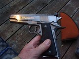 COLT GOLD CUP NATIONAL MATCH SERIES 80 STAINLESS AS NEW WITH 3 MAGS - 6 of 10