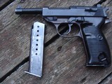Walther P38 WW11 Era Nazi Marked Ex Cond Mil Proofs Beauty