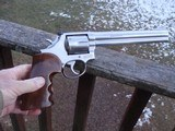 "Smith & Wesson 686 8"" Barrel, No Dash, Pinned, Recessed, pre lock Somewhat Rare With 8"" barrel - 1 of 8"