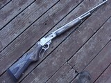Marlin 336 XLR Stainless With Handsome Grey Laminated Wood Stock Near New Cond. 30-30
