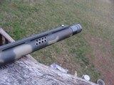 Mossberg 500 12 Ga Camo Turkey Gun As New Cond Ported with extended Turkey Choke - 4 of 8