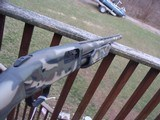 Mossberg 500 12 Ga Camo Turkey Gun As New Cond Ported with extended Turkey Choke