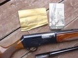 Browning 2000 All Belgium Made Shotgun 2 barrel set Ex Condition Bargain Price 12 ga With Original Papers No Box