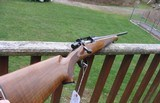 Remington Model Seven 7mm08 Original Early Model with Schnable forend and walnut checkered stock Very hard to find in 7mm08