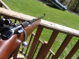 Marlin Model 80 DL (Deluxe) 22 Clip Fed JM New Haven Ct.Micro Groove Vintage Near New Quality 22 Squirrel Gun