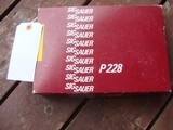 Sig 228 West German As New In Box With Manual 9mm Very High Quality - 8 of 9
