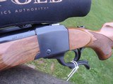 Ruger # 1 257 Weatherby Very Rare 400 made As New Fancy Factory Wood - 4 of 11
