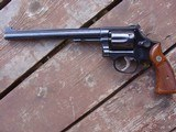 """Smith & Wesson 48 8 3/8"""" Barrel, hard to find, beauty, light use, Ex Cond. 22 magnum revolver - 2 of 9"""