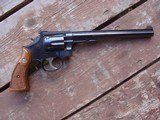 """Smith & Wesson 48 8 3/8"""" Barrel, hard to find, beauty, light use, Ex Cond. 22 magnum revolver - 1 of 9"""
