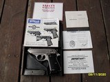 Walther Manurhin PPK/S As New In Box Somewhat Rare French Version With All Papers, Target Etc.