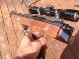 Remington XP100 With Leupold 4x ER Scope 1968 Gun As New Remington 40x Action 221 Fireball - 2 of 9