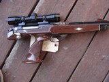 Remington XP100 With Leupold 4x ER Scope 1968 Gun As New Remington 40x Action 221 Fireball - 1 of 9