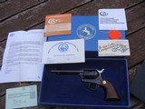 """Colt Single Action Army New In Box 1993 45 LC 5 1/2"""" Unfired and New In Box"""
