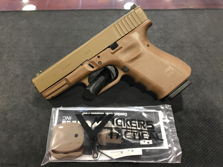 Glock 19 Fde Frame