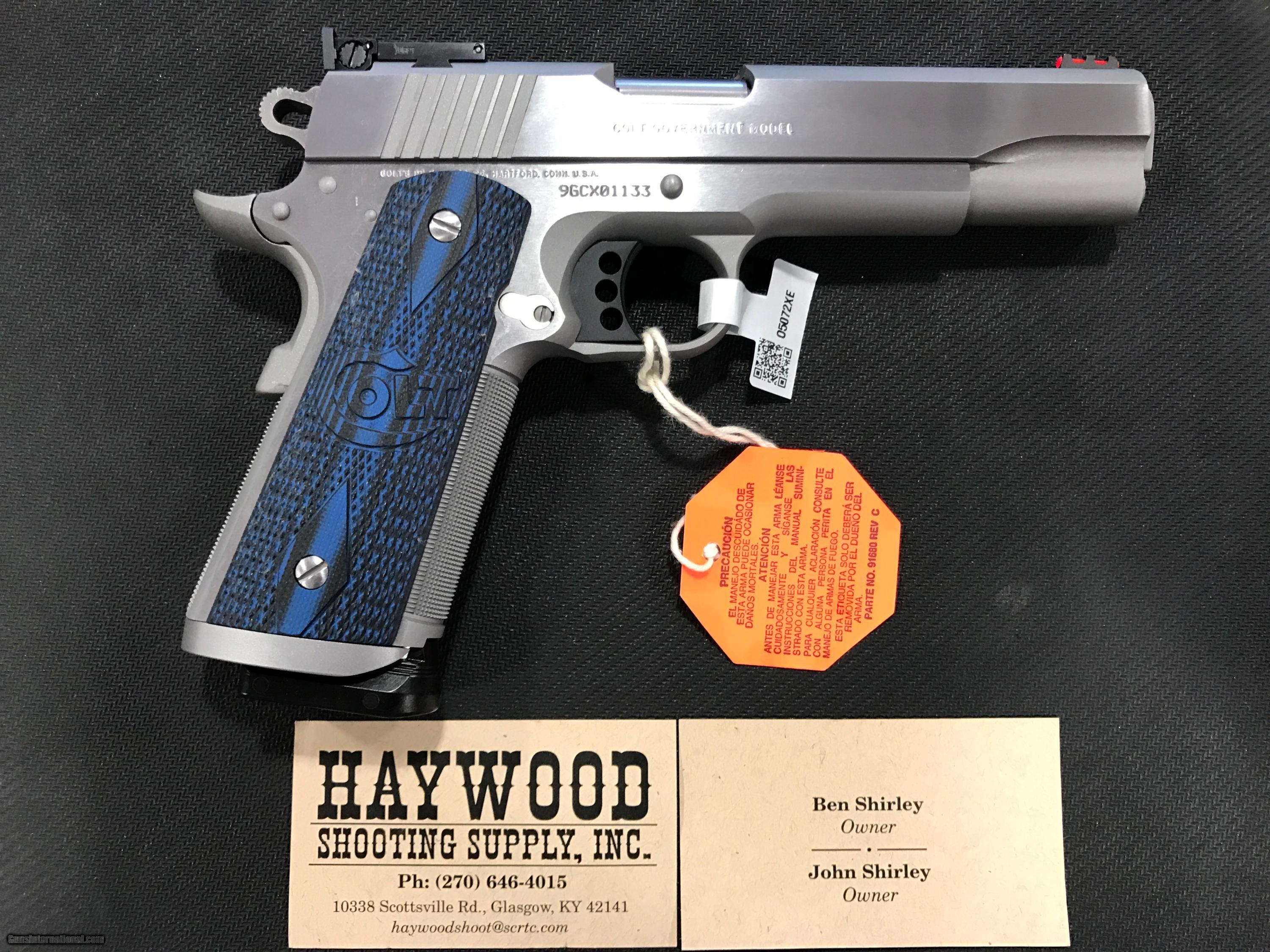 ... COLT 1911 GOLD CUP TROPHY 9MM SS - 2 of 15 ...
