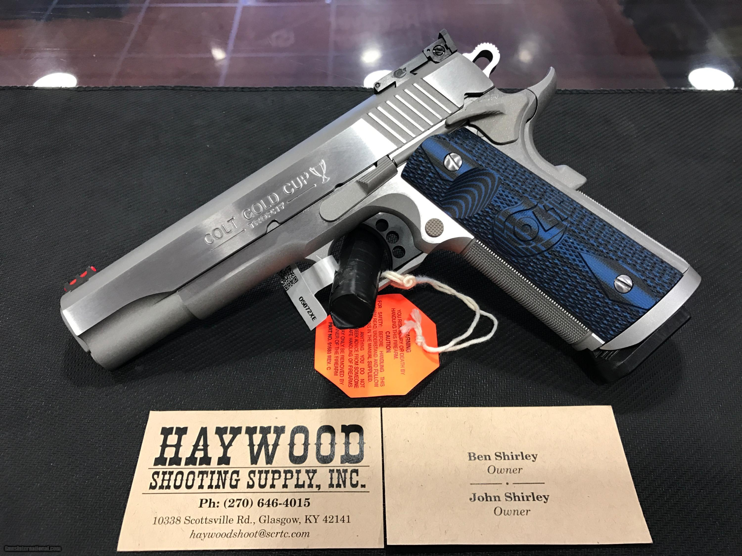... COLT 1911 GOLD CUP TROPHY 9MM SS - 4 of 15 ...