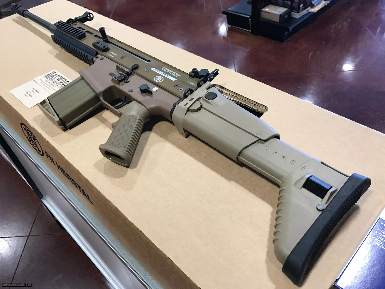 FN SCAR 17S  308 CALIBER FDE