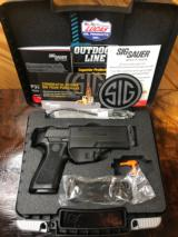 SIG SAUER P320 X-CARRY SERIES 9MM CALIBER