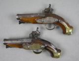 Catalan Ripoll Miquelet-Lock Pistols_Exquisite pair- 2 of 10