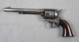 Colt S.A.A. Nice Frontier 44-40 Etched Panel With Letter