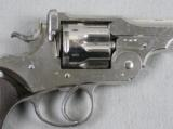 Webley WG Model 1889 D.A. 476 Caliber Nickel - 4 of 9