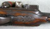 Flintlock Powder Tester Pistol, RARE, Early 1730s - 6 of 8