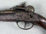 Flintlock Powder Tester Pistol, RARE, Early 1730s - 4 of 8