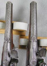 Lazaro Lazarino Flintlock Belt Pistols 44 Caliber - 5 of 11