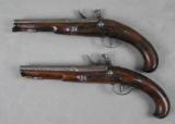 Lazaro Lazarino Flintlock Belt Pistols 44 Caliber - 2 of 11