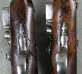 Lazaro Lazarino Flintlock Belt Pistols 44 Caliber - 9 of 11