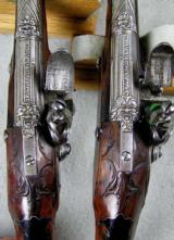 Lazaro Lazarino Flintlock Belt Pistols 44 Caliber - 6 of 11