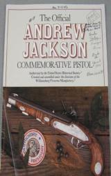 Andrew Jackson Commemorative Pistol 14-Kt Gold Edition - 11 of 13