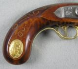 Andrew Jackson Commemorative Pistol 14-Kt Gold Edition - 3 of 13