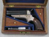 Tippings & Lawden 30 Rimfire Sharps Patent Cased Pepperbox