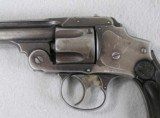 S&W Blue 3rd Model 38 CF Safety Hammerless D.A. - 3 of 7