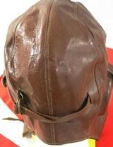 Japanese Wakizashi Pilots Sword, Leather Flying Hat, Flag - 5 of 24