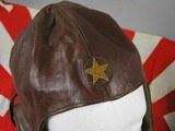 Japanese Wakizashi Pilots Sword, Leather Flying Hat, Flag - 3 of 24