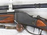 Winchester Model 1885 High Wall Schuetzen Rifle #4 Barrel/Letter - 7 of 14