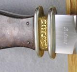 California Fancy Style Dagger By Dean Sweet - 6 of 6