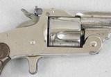 S&W 38 S. Action Model 1891 Spur Trigger Target Revolver - 4 of 7