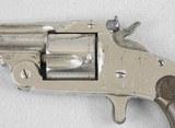 S&W 38 S. Action Model 1891 Spur Trigger Target Revolver - 3 of 7