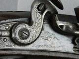 Flintlock Fine Pair Of Duelers Marked Hamburger & Co. - 6 of 7