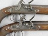 Flintlock Fine Pair Of Duelers Marked Hamburger & Co. - 3 of 7
