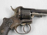LeFaucheux 7 mm French D.A. Pinfire Revolver - 4 of 6