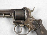 LeFaucheux 7 mm French D.A. Pinfire Revolver - 3 of 6