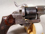 French D.A. folding trigger Pinfire Revolver - 3 of 8