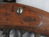 Swiss Military Conversion 63/1867 Trapdoor Rifle - 9 of 11